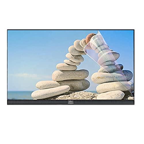 GFSD Protector de Pantalla de TV Anti UV 27-75 Pulgadas Película Anti Luz Azul/Anti Miopía/Anti Deslumbramiento for LCD, LED, OLED Y QLED 4K HDTV