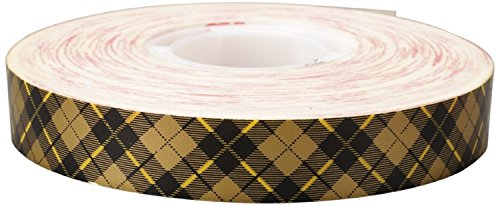 Scotch ATG Adhesive Transfer Tape Acid Free 908 Gold, 0.50 in x 36 yd 2.0 mil (Pack of 4)