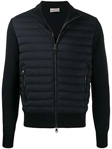 Luxury Fashion | Moncler Heren 9B50600V9100781 Donkerblauw Katoen Outerwear Jassen | Lente-zomer 20