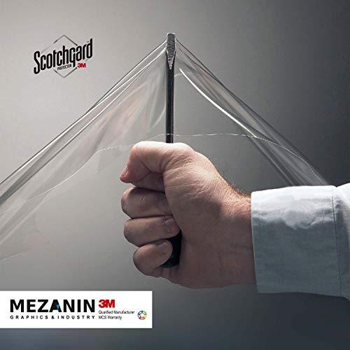 3M Lackschutz- Kratzschutz - Folie transparent & selbstklebend