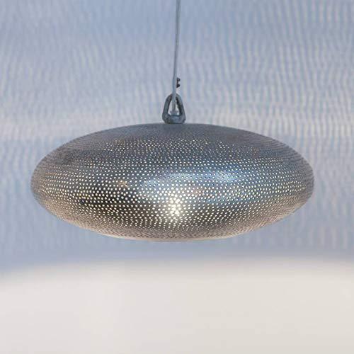 GABS FILISKY-Suspension, Metall, gelocht, Durchmesser 30 cm, silberfarben