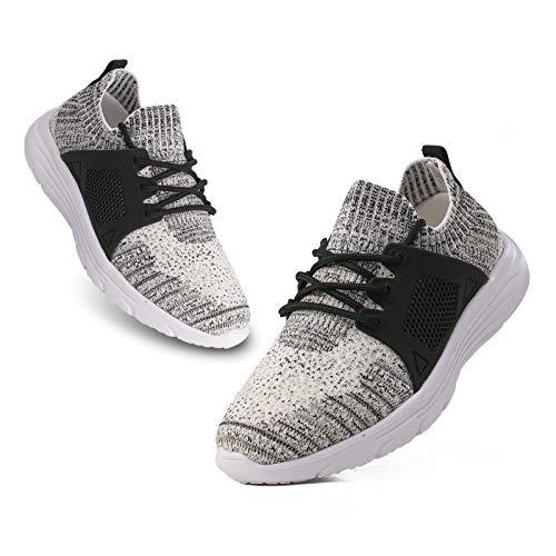 BUBUDENG Zapatillas de deporte para niños, ligeras, para niñas y jóvenes, para correr, para la UE 25-35, color, talla 32 EU