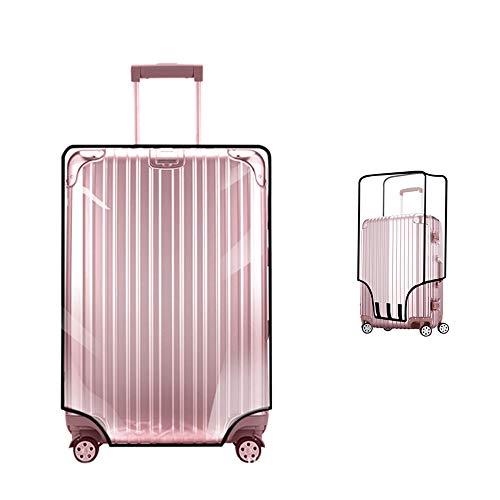 """Custodia protettiva per bagaglio copri valigia di YCBest Borsa impermeabile in PVC riutilizzabile pieghevole impermeabile antipolvere pieghevole (20""""(12.99-14.57""""L x 9.00-10.63""""W x 18.9-20.08""""H))"""