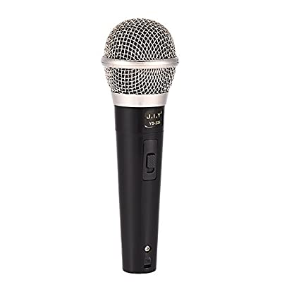 Vocal Dynamic Microphone Handheld Karaoke Microphone Professional Wired Microphone Clear Voice for Karaoke/Music Performance