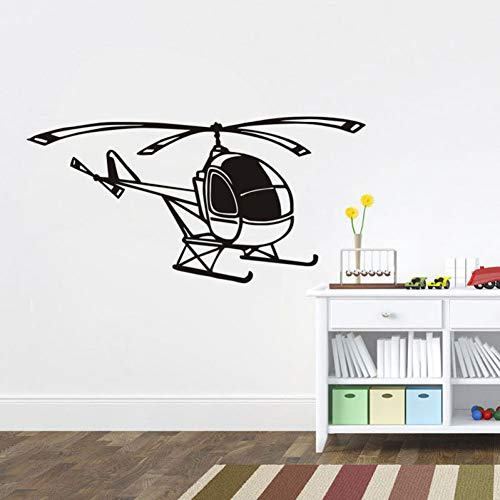 EBONP Etiqueta la Pared Navidad Pequeño helicóptero coración para el hogar...