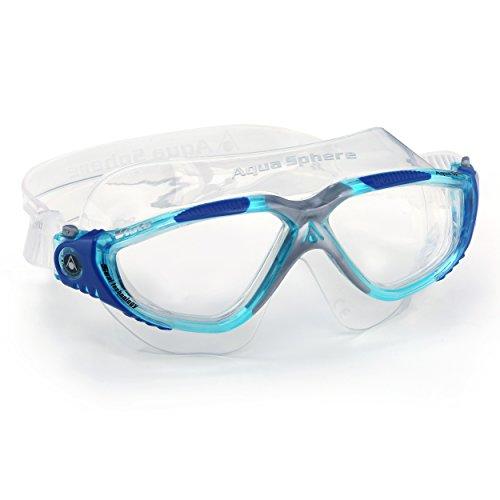 Aqua Sphere MS173111 Unisex Vista - Máscara de natación, tamaño L, color durschichtig