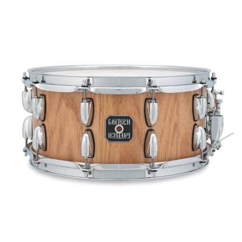 """Oak Snare S-6514SSO-SN, 14""""x6.5"""", Stave Shell"""