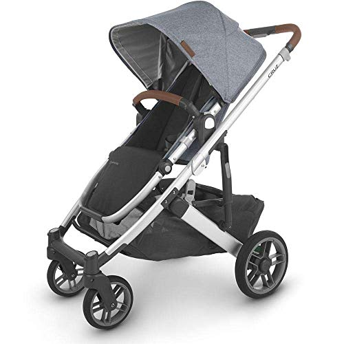 Cheapest Price! UPPAbaby 0420-CRZ-NA-GRG Cruz V2 Stroller - Gregory (Blue Mélange/Silver/Saddle Lea...