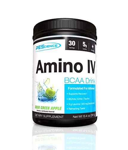 PES Amino IV Sour Green Apple 30 Servings, 375 g