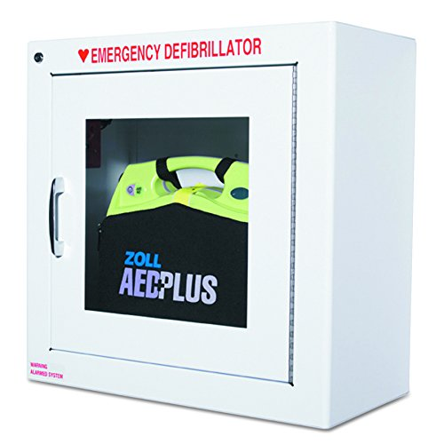 ZOLL - Alarmed AED Wall Cabinet, f/ AED Plus Kit, Sold as 1 Each, ZOL80000855