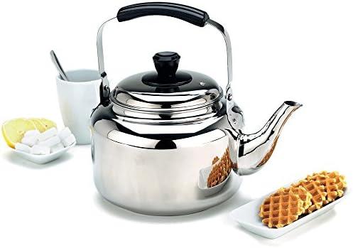 Demeyere RESTO Stainless Steel Tea Kettle 6 3 qt product image