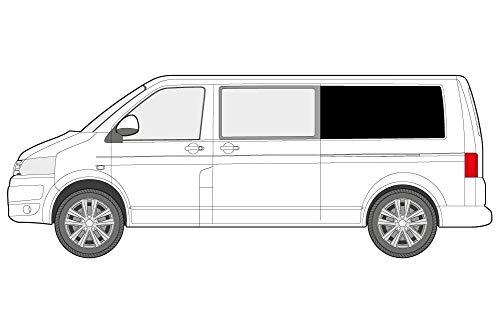 Coprisedili NERO adatto per VW t4 t5 t6 TRANSPORTER MULTIVAN CARAVELLE