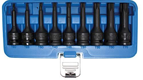BGS 5480 | Kraft-Bit-Einsatz-Satz | 9-tlg. | 12,5 mm (1/2