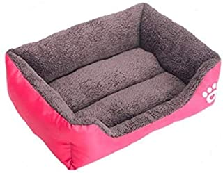 Chengrui L size Candy Color Square Kennel House Eco-friendly Dog Bed Mat Sofa Pets Beds For Various Dogs Supplies