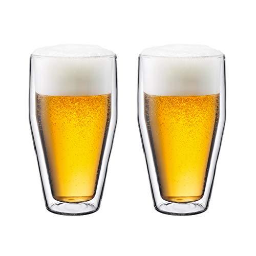BODUM ボダム TITLIS ティトリス ダブルウォール グラス 450ml 2個セット 【正規品】 10483-10J