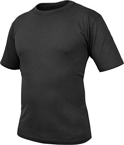 normani Bundeswehr Unterhemd T-Shirt nach TL (atmungsaktives Material) Farbe BW/Schwarz Größe XL