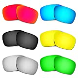 HKUCO Plus Replacement Lenses for Oakley Turbine - 6 Pair Combo Pack