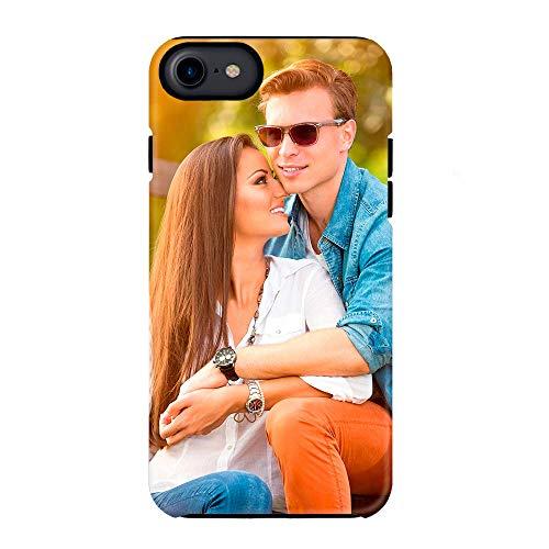 Funda Personalizada 3D iPhone/iPad Air 2 3 4 Mini 4 5 5C 6 7 8 con la Foto y el Texto Que Quieras (iPhone 8)