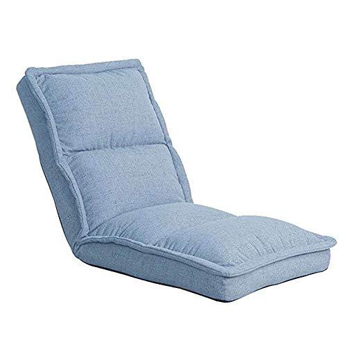 Haushaltsprodukte Lazy Sofa mit hoher Rückenlehne Gaming Chair Lazy Sofa Couchbett Weich gepolstert Leicht zusammenklappbar für Jugendliche Erwachsene (Farbe: Lila)