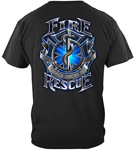 Firefighting Fire Fighter Shirts for Men - Fire Man Shirt - Bunker Gear - Tshirt-ADD107-FF2056S