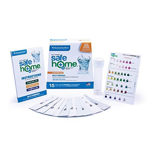 Safe Home STARTER-15 DIY Water Quality Test Kit