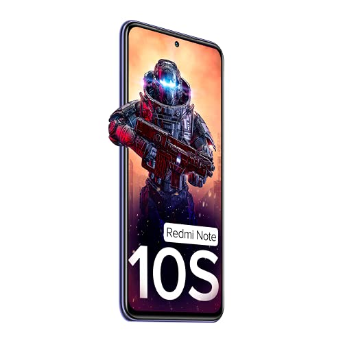 Redmi Note 10S (Cosmic Purple, 6GB RAM, 128GB Storage) - Super Amoled Display   64 MP Quad Camera  NCEMI Offer on HDFC Cards   6 Month Free Screen... 6