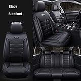 Fundas Asientos Coche Universales para Volvo S60L V40 V60 S60 Xc60 Xc90 Xc60 C70 S80 S40 Accesorios Coche-Negro