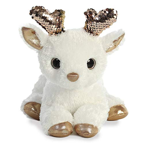Aurora - Christmas Items - 11' Shimmers Rose Gold Deer