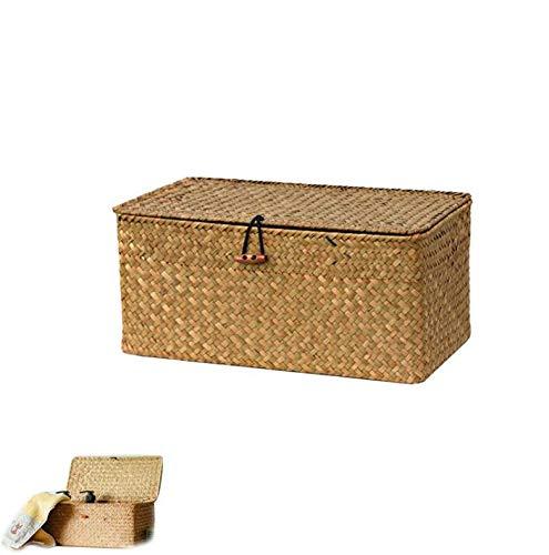 Cestas De Mimbre Pequeñas Rectangular cestas de mimbre  Marca Chytaii