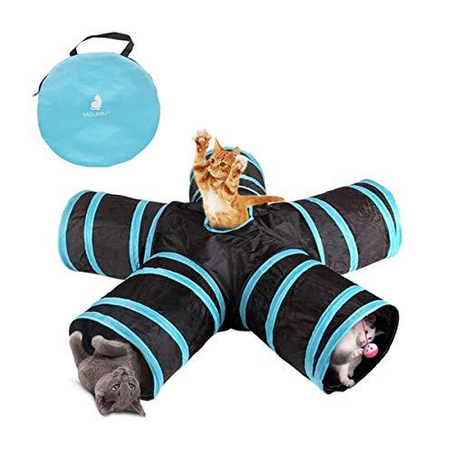 Unim gato túnel, de 5Vías túnel, plegable, gato desplegables Tube, Pop Up...