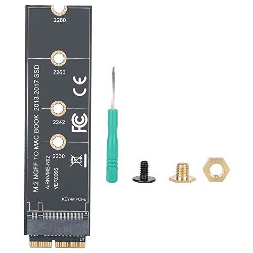 M.2 NVME SSD, PCIE3.0, Unidad SSD de Alto Rendimiento, Adecuada para Macbook AirA1465 A1466 A1466 A1502 A1398 para 2013-2017