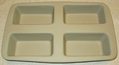 Pampered Chef Stoneware Mini Loaf Pan