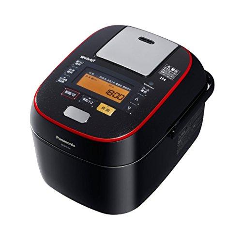 パナソニック 5.5合 炊飯器 圧力IH式 Wおどり炊き ブラック SR-SPA106-K