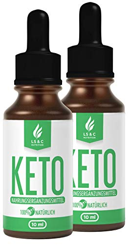 KETO | Drops | Tropfen | Lipo | Burn | EXTREM & SCHNELL & EASY | STOFFWECHEL, KETOGEN | 10 ml (2)