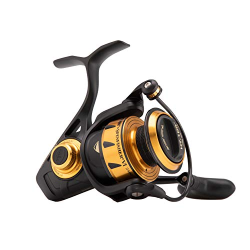 Penn 1481260 Spinfisher VI Spinning Saltwater Reel, 2500 Reel Size, 6.2: 1 Gear Ratio, 33' Retrieve Rate, 6 Bearings, Ambidextrous