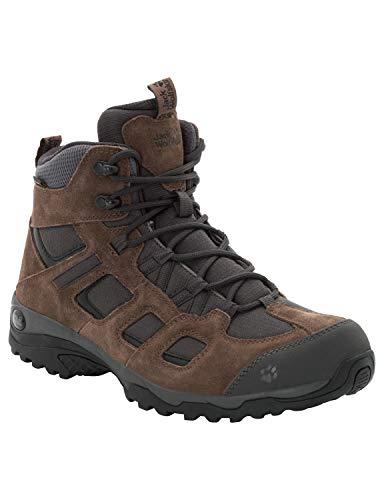 Jack Wolfskin Herren Vojo Hike 2 Texapore MID M Wasserdicht Trekking-& Wanderstiefel, Braun (Dark Wood 5690), 42.5 EU