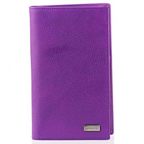 Elephant Elephant , Scheckbuchhülle violett violett