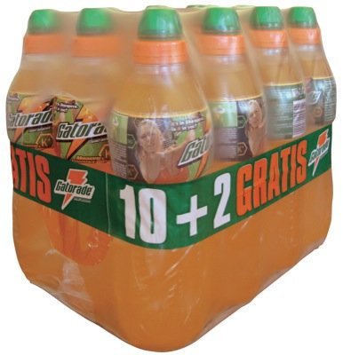 Gatorade 750ml, Red Orange - 12 x 0,75l