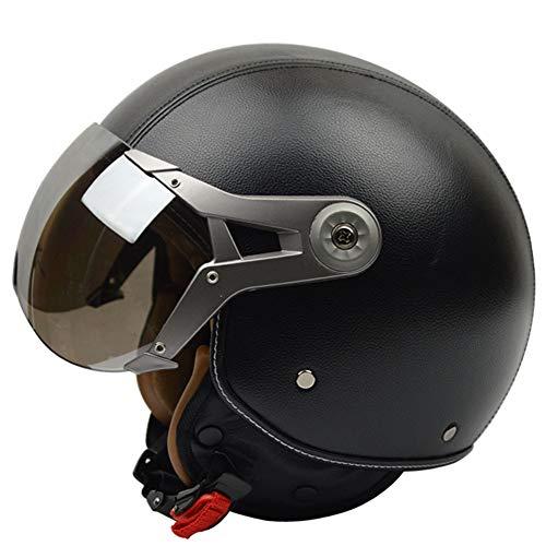 Fietshelm CE gecertificeerde verstelbare helm voor volwassenen met afneembaar vizier voor fiets racefiets BMX rijden verstelbare veiligheid voor volwassenen en ademend