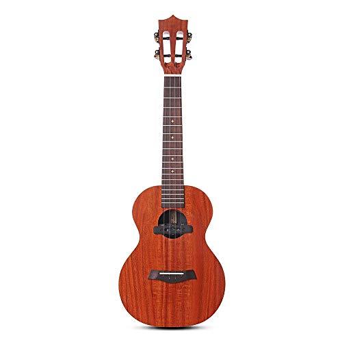 Chlyuan-mu Guitarra 26 Paquete de Guitarra clásica del Cabezal Principiantes Pulgadas Full Board HPL KOA Ukulele con Funda Correa para niños Adultos Principiantes Principiantes