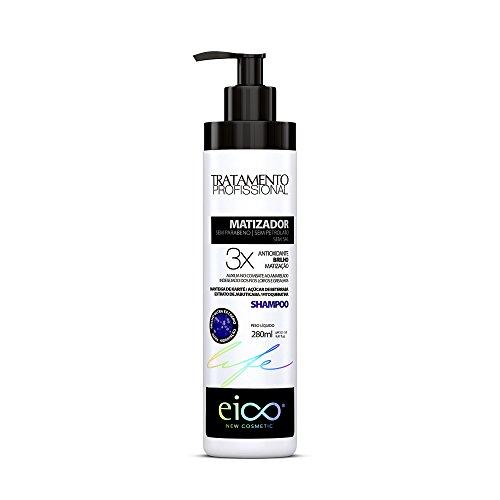 Shampoo Eico Life - Matizador - 280Ml, Eico