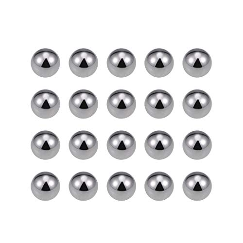 uxcell 6mm Carbon Steel Bearing Balls Precision Balls 200pcs
