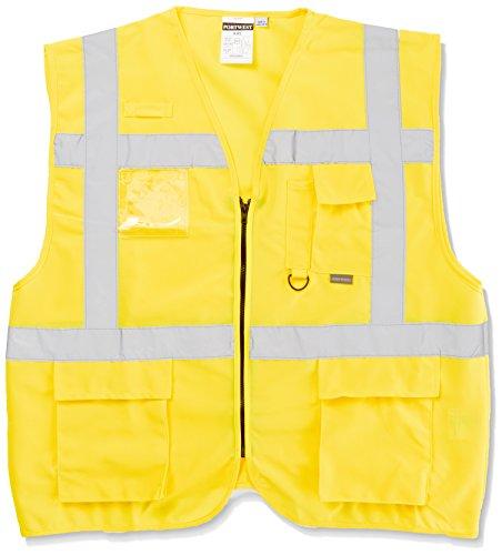 Portwest Sicherheitsweste Berlin S476, Size 6X-Large, gelb, 1