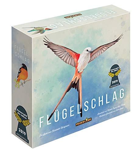 Feuerland games 63558 vleugelslag bordspel Duitse editie - kenspel van het jaar 2019 (critikerprijs)