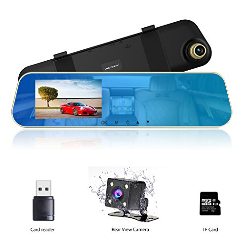 dual lens car dash cam