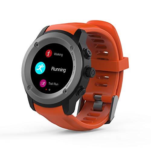 Ghia Smart Watch Draco, 1.3 Touch, Heart Rate, Bt, GPS, Naranja