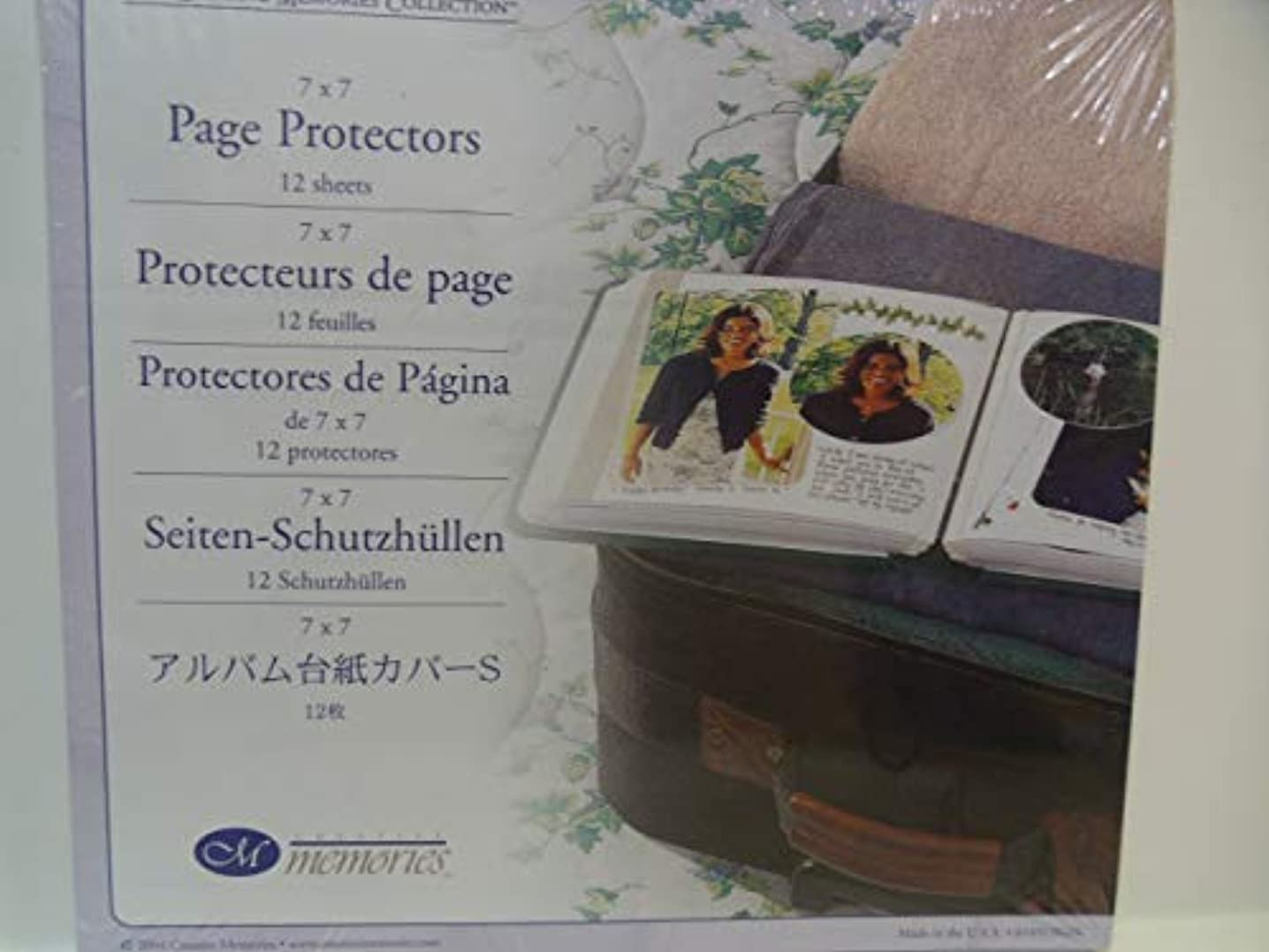 The creative memories Collection 7x7 Page Protectors