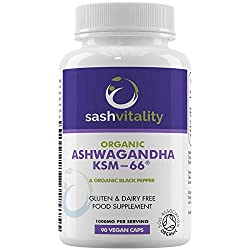 Organic Ashwaghanda with by SASH Vitality