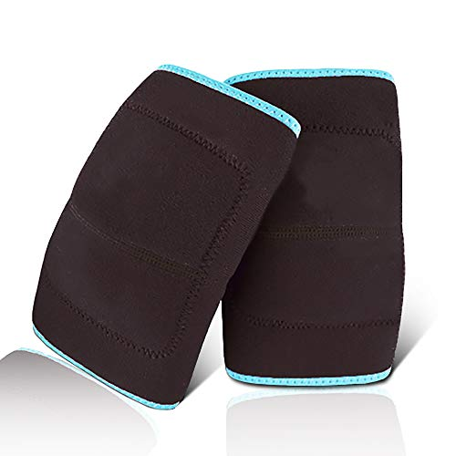 GINEKOO Kids Protective Knee Pads, Anti-Slip Padded Sponge Breathable Adjustable Kids Knee protector for Volleyball Basketball Skating Cycling Dance