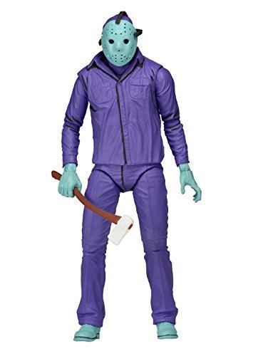 Figurine Jason NECA The Friday 13th, Un Classique de Jeux vidéos avec thème Musical 39715 17,8 cm